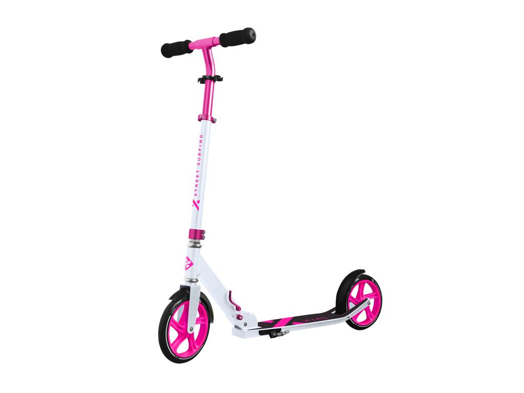 Streetsurfing 200 - Løbehjul med 200mm hjul - Electro pink | cykelhjul