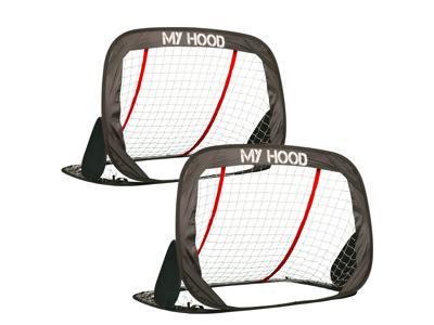 My Hood Pup-up - Fodboldmål - 2 stk. - 120x80x80cm