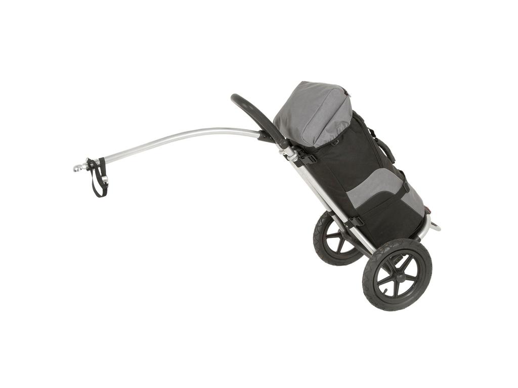 Køb M-Wave Stalwart Shop 1 – Cykeltrailer – shopping – Max vægt 20 kg – Sort/Grå
