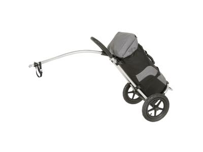 M-Wave Stalwart Shop 1 - Cykeltrailer - shopping - Max vægt 20 kg - Sort/Grå