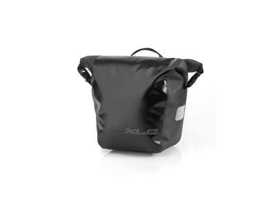 XLC - Carrier - taske til bagagebærer - 10 Liter - Sort
