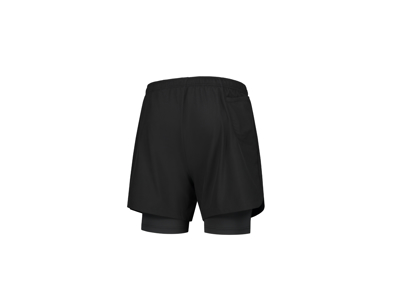 Rogelli Matrix - Løbeshorts 2 in 1 - Sort