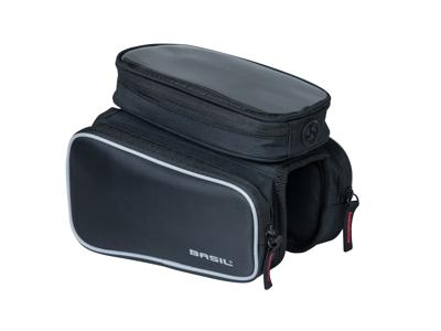 Basil Sport Design M - Steltaske - Double - 1,5 liter - Black