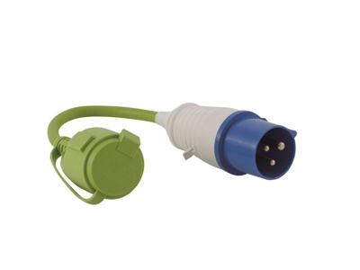 Outwell Conversion - Adaptorkabel med dåse- 30 cm