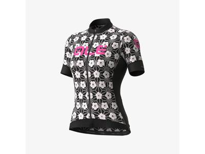 Alé PRS Garda - Cykeltröja med korta ärmar - Kvinnor - Svart / Vit