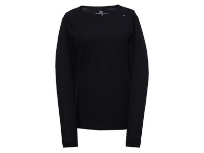 2117 Of Sweden Ullånger Eco - T-Shirt Merinould - Lange ærmer - Dame - Sort