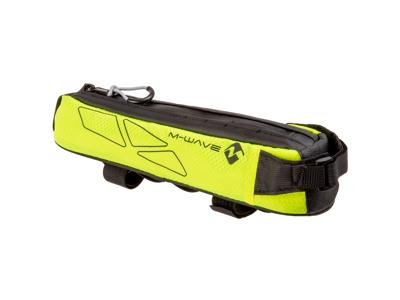 M-Wave Rough Ride - Cykeltaske til stel - Vandtæt - Neongul