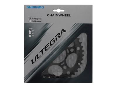 Shimano Ultegra - 39 tands klinge - Triple - 10 gears - FC-6703 - Grå