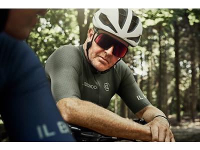 Il Biondo Road Warrier - Cykeltrøje - Strike 2.0 Touring - Herre - Oliven grøn