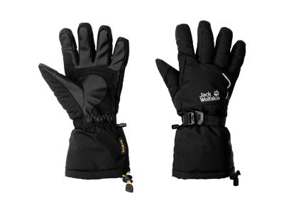 Jack Wolfskin Texapore Big White - Vinter handske - Sort