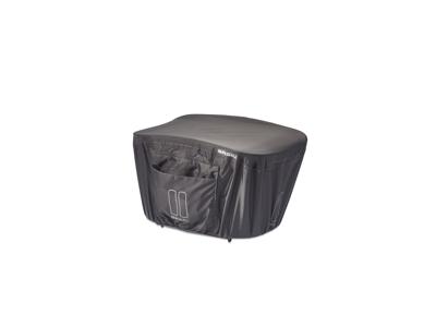 Basil Keep Dry - Regnovertræk til kurven - Urban grey