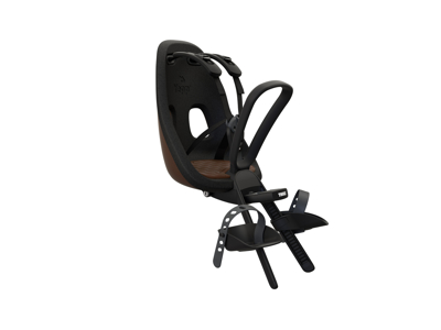Thule Yepp Nexxt Mini - Cykelstol med 5-punktssele - Förmonterad - Svart / brun