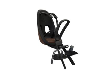 Thule Yepp Nexxt Mini - Cykelstol med 5-punktssele - Formonteret - Sort/brun