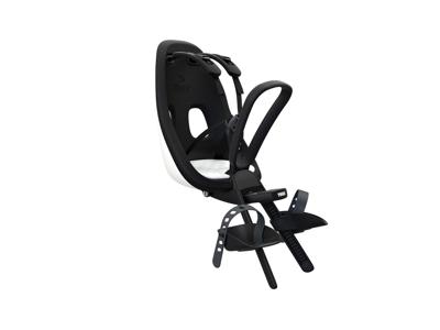 Thule Yepp Nexxt Mini - Cykelstol med 5-punktssele - Förmonterad - Svart och vitt
