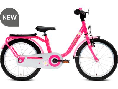"Puky - Steel 18 - Børnecykel 18"" - Steel - Lovely pink"