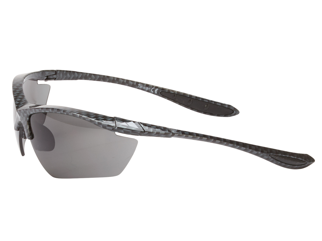 Ongear Alpe d' huez - Cykelbrille med PC Smoke linse - Carbon