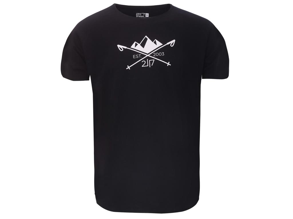 2117 OF SWEDEN Apelviken - T-Shirt - Sort - Str. M thumbnail
