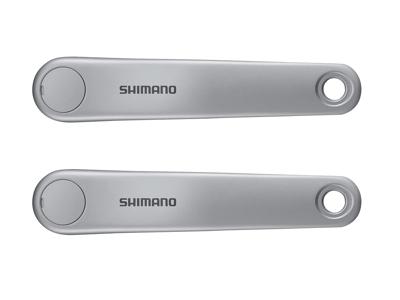 Shimano Steps - Pedalarmset FC-E5000 - 170 mm - Sølv - Uden klinge