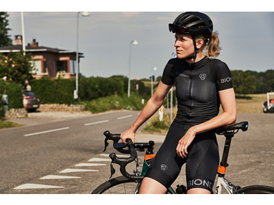 Il Biondo Road Warrier - Cykeltrøje - Strike 2.0 Touring - Dame - Sort