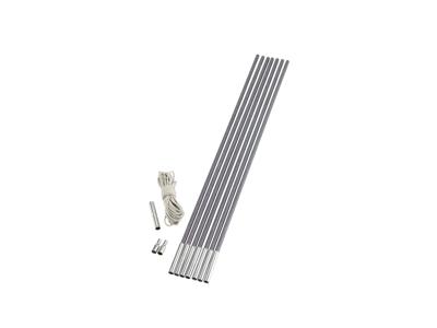Outwell Duratec - Løse Teltstænger - 11 sektioner af 65 cm - 9,5 mm