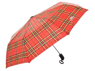 Trespass Maggiemay - Paraply - Rød tartan