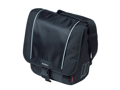 Basil Sport Design - Cykeltaske til bag - Single bag - 18 liter - Black