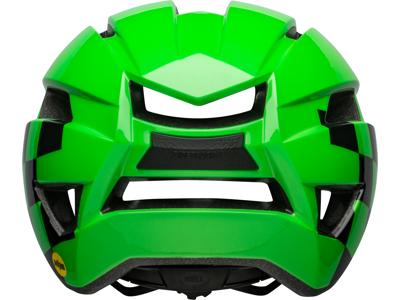 Bell Sidetrack II Kids - Sykkelhjelm - Etterbehandler Glans grønn / svart - Størrelse 47-54 cm