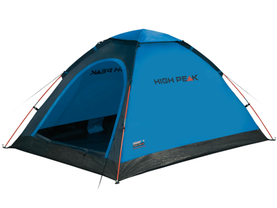 High Peak Monodome PU - 2 personers telt - Blå