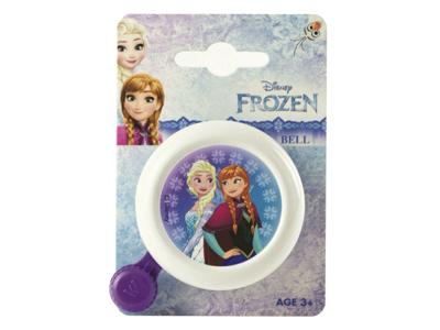 Frozen - Ringeklokke til børnecykel - Frost motiv - Hvid