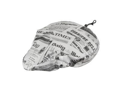 M-Wave Newspaper - Sadelovertræk - Nylon med 10 mm skumpolstring - Avis