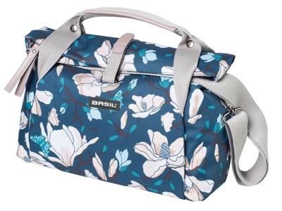 Basil Magnolia City Bag - Styrtaske - 7 liter - Teal blue
