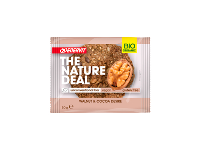 Enervit - The Natural Deal - Cookiebar - Walnut & Cocoa - 50g
