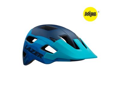 Lazer Chiru MIPS - Cykelhjelm MTB - Mat blå stål