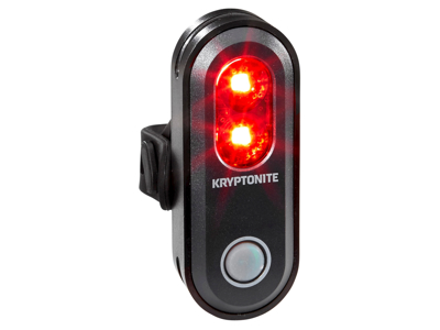 Kryptonite Avenue R45 - Cykellygte til bag 45 lumen - USB opladelig