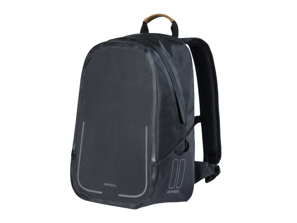 Basil Urban Dry Backpack - Rygsæk - 18 liter - Matt black