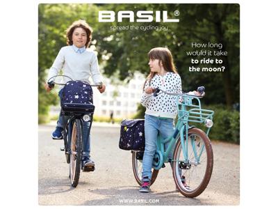 Basil Stardust - Cykeltaske til børn - 20 liter - Nightshade