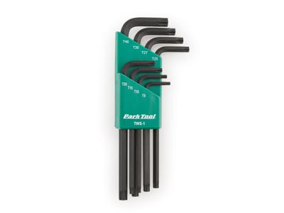 Park Tool TWS-1 - Torx nyckelset - 8 st. T9 till T40