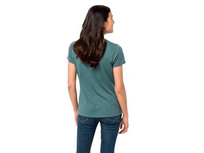 Jack Wolfskin At home - T-Shirt Dame - Blå