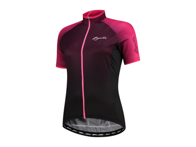 Rogelli Glow - Cykelbluse - Dame - Race Fit - Bordeaux/Pink