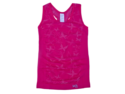 Kari Traa Butterfly - Top - Pink - Str. XS/S