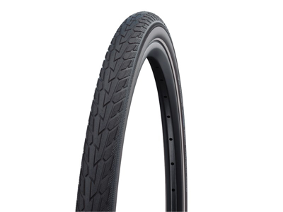 Schwalbe Road Cruiser - K-Guard Tråddæk - 28x1,60 (42-622) - Sort/Coffee refleks