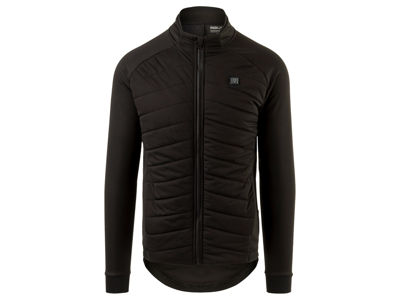 AGU Thermo Heated Jacket - Cykeljakke med LED Lys - Sort