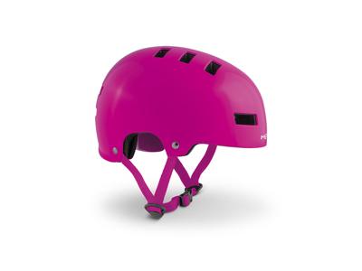 Met Yoyo - Cykel- og skaterhjelm - Matt Pink - Str. 54-57 cm