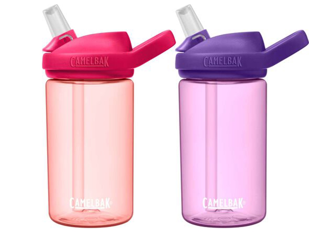 CamelBak Eddy+ Kids - 2 pack drikkeflaske - 0,4 liter - Grapefruit Dusty Lavender