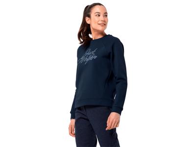 Jack Wolfskin Winther logo - Langærmet T-Shirt Dame