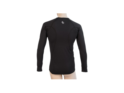 Sensor Coolmax Tech - T-Shirt L/Æ - Sort