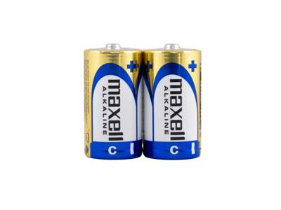 Maxell - Batteri - LR14 Alkaline S - 2 stk