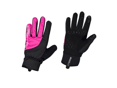 Rogelli Storm - Cycling Gloves Women - Winter - Black / Pink