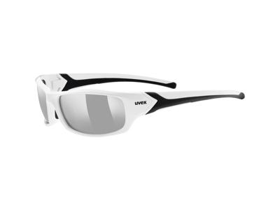Uvex Sportstyle 211 - Cykelbriller med litemirror linser - Hvid