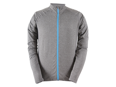 2117 OF SWEDEN Hjortberget - full zip jakke - Grå